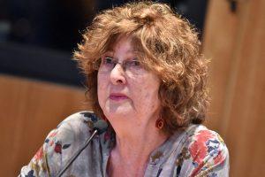 Dra. Flora Singer, académica de la Universidad de la República de Montevideo